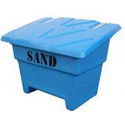 sandbehållare 350 liter blå